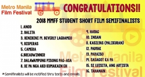 ADC announced in the Top 16 MMFF Student Short Film Seminafinalists