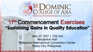 11th Commencement Exercises:
